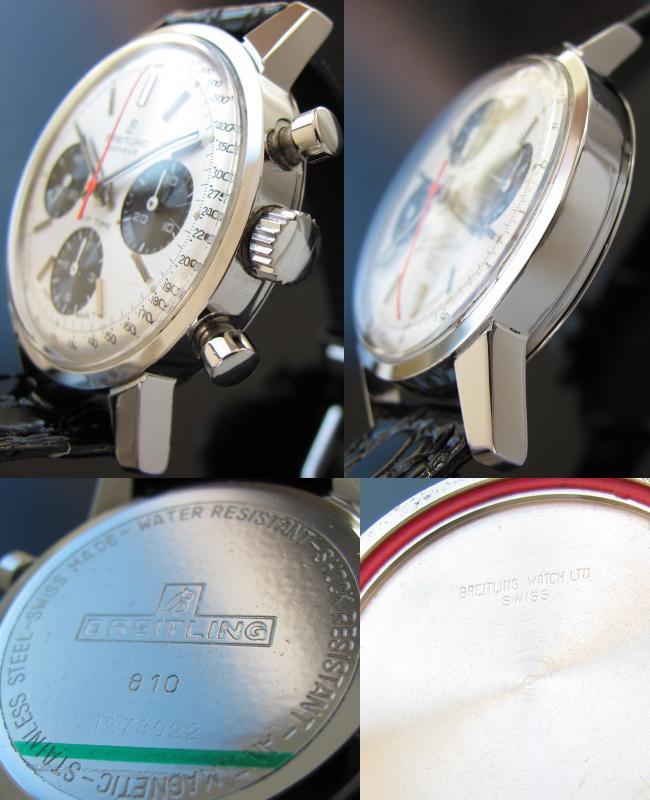 1960年代ブライトリング★トップタイム★Ref.801/Cal.178 クロノグラフのサムネイル