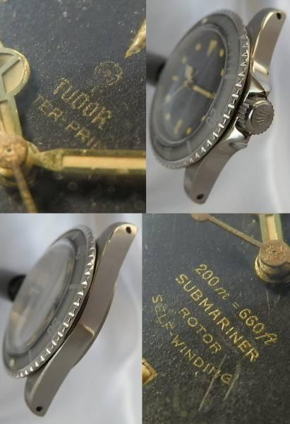 幻1962年ミラーダイアル ゴールド針★チュードル サブマリーナ★Ref.7928/Cal.390 オートマティッククロノグラフのサムネイル