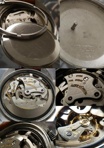 伝説GTグランツーリスモ★ジャガー・ルクルト メモボックス Ref.E861★Cal.825 世界初自動巻アラームデイト ステンレススティールケースのサムネイル