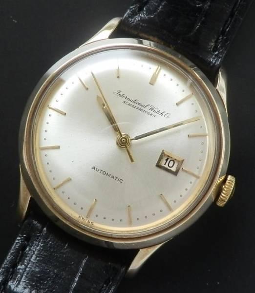 1963年9金無垢ピンクゴールド★IWC オールドインター★ペラトンCal.3541のサムネイル