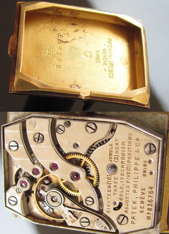 角型最高峰Cal.9-90★パテック フィリップ★Ref.1560/アーカイブ 18金無垢のサムネイル