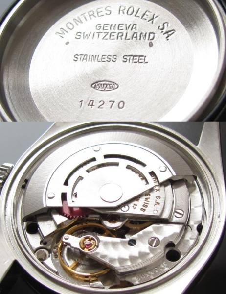 超美品1996年T番★ロレックス エクスプローラー★Ref.14270/Cal.3000のサムネイル