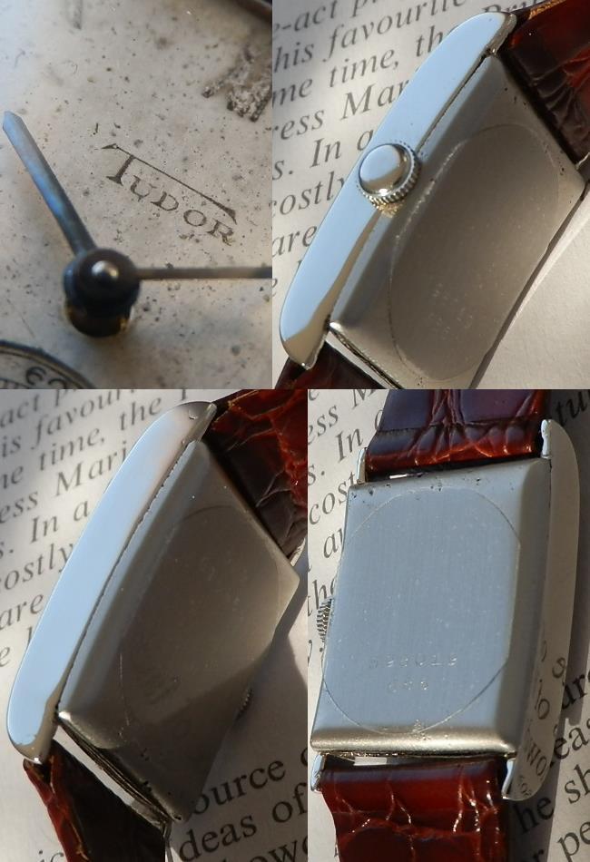 創世記1930年代★チュードル レクタンギュラー★Ref.686/Cal.130系 スモールセコンドのサムネイル