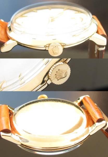 魅惑の逸品..14金無垢シャンパンゴールド★ロレックス★Cal.1210☆1950年代 美品のサムネイル