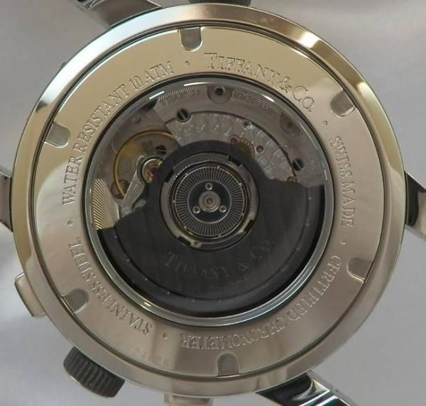 クロノメーター仕様オートマティック★ティファニー MARK-T57★ダブルステップドギョーシエダイアルのサムネイル