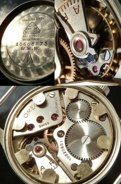1946年☆激希少イギリス軍用★オメガ ブロードアロー★30mmキャリバーCal.30T2 WWW (WATERPROOF WRIST WATCH =防水腕時計)のサムネイル