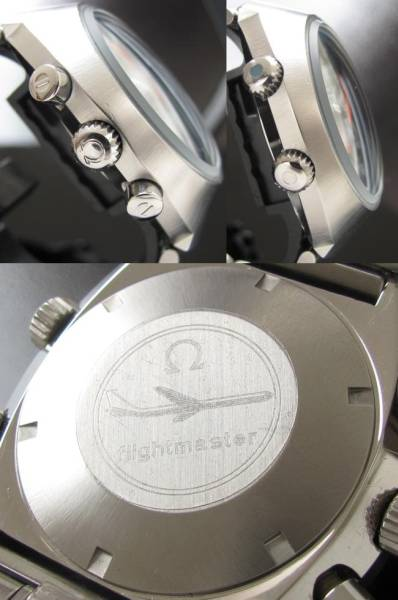 GMTクロノグラフ&インナー回転ベゼル★オメガ フライトマスター★オーバーホール済 Cal.911のサムネイル