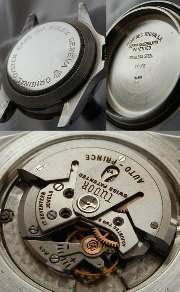 激激希少1964年極上★チュードル オイスタープリンス サブマリーナ★Ref.7928/Cal.390のサムネイル