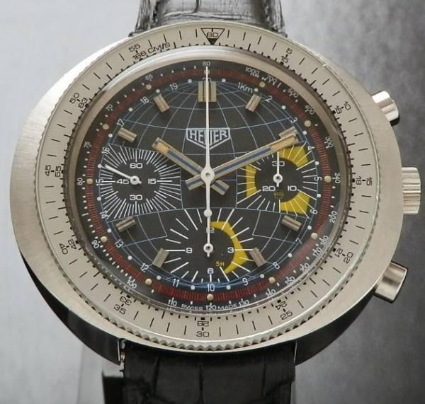 激希少1975年モデル★ホイヤー カイン Ref.2006-9★デッドストック級 Cal.7736  オートマティッククロノグラフのサムネイル