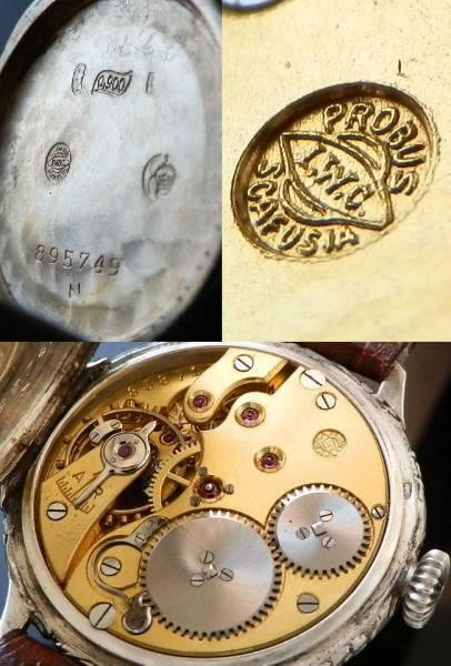 幻の逸品…ファーストCal.64★IWCオールドインター★銀無垢1929年のサムネイル
