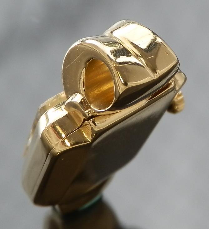 ラグの造形美..リボンラグ★ロレックス Ref.4405 コード・バン ブレスウオッチ Cal.200★18金無垢シャンパンゴールドのサムネイル