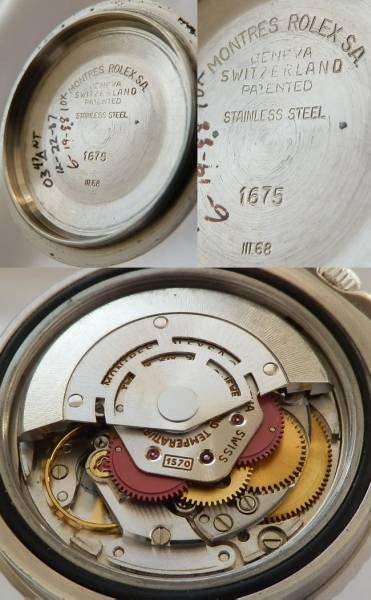 1968年の鼓動…Ref.1675セカンド★ロレックス GMTマスター★Cal.1570 ペプシのサムネイル