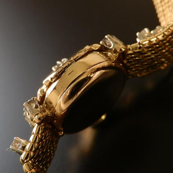幻!1.15カラット ダイヤモンド 18金無垢シャンパンゴールド★ロレックス プレシジョン★フリップトップのサムネイル