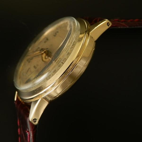 世界初アラームCal.120★ヴアルカン クリケット★激希少14金無垢シャンパンゴールドのサムネイル