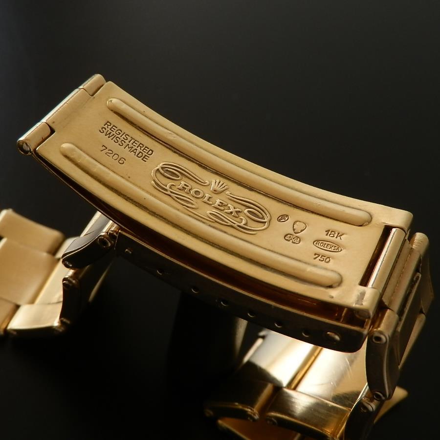 伝説18金無垢シャンパンゴード Cal.1570★ロレックス GMTマスター2'nd Ref.1675/8★7206リベットブレスのサムネイル