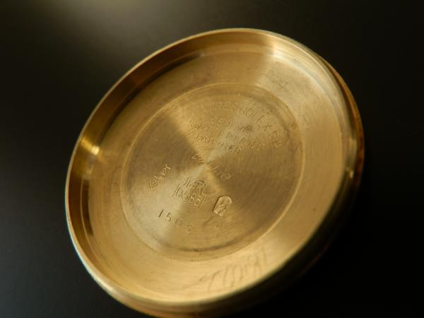 激希少14金無垢シャンパンゴールド★ロレックス オイスターデイト ゼファー★Ref.1512/Cal.1570のサムネイル