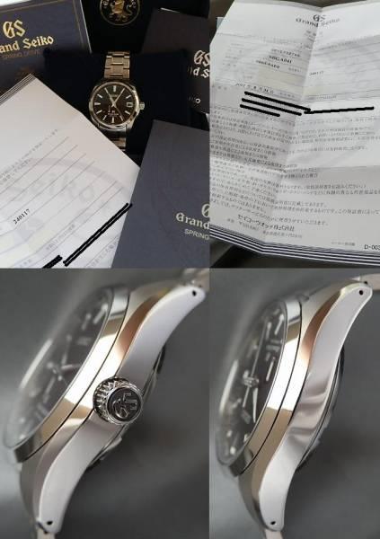 2012年8月正規購入★グランドセイコー Ref.SBGA041★スプリングドライブCal.9R65Aのサムネイル