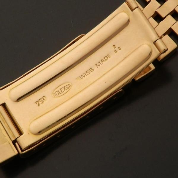 幻オール18金無垢ピンクゴールド★ロレックス デイトジャスト Ref.6305★サードモデル Cal.745のサムネイル