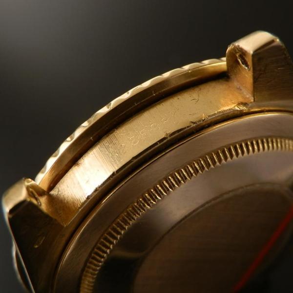 18金無垢シャンパンゴールド☆Ref.1675/8 フジツボ★ロレックス GMTマスター★Cal.120 マットブラウンのサムネイル