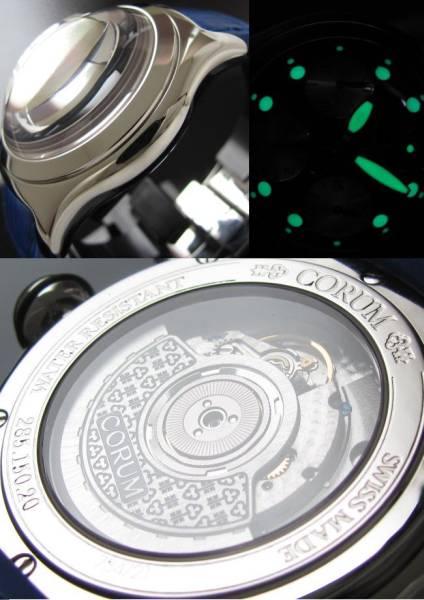 未使用Ref.285020★コルム バブルオートクロノ★スケルトン/Cal.2892A2 付属完備のサムネイル