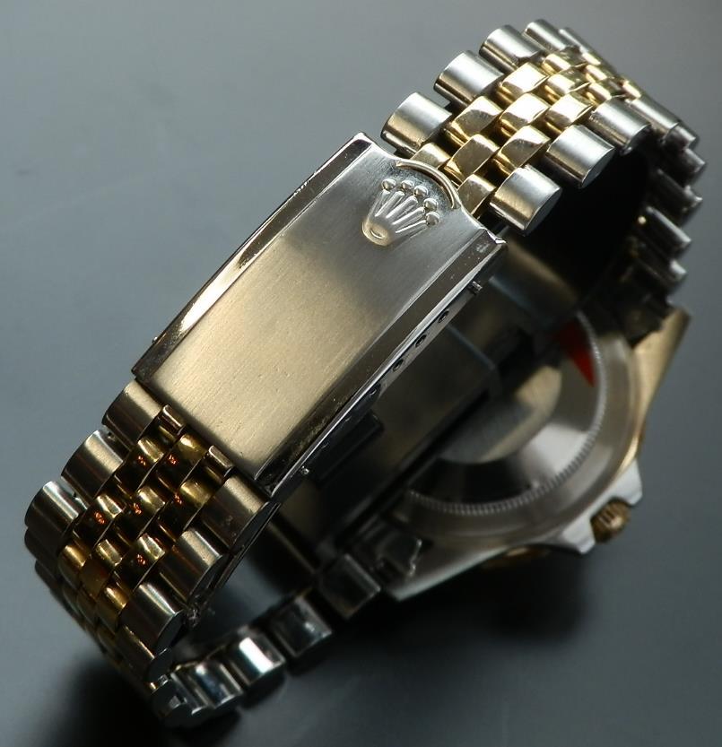 日本ロレックス オーバーホール済2年保★ロレックス GMTマスター Ref.1675/3★Cal.1570 フジツボのサムネイル