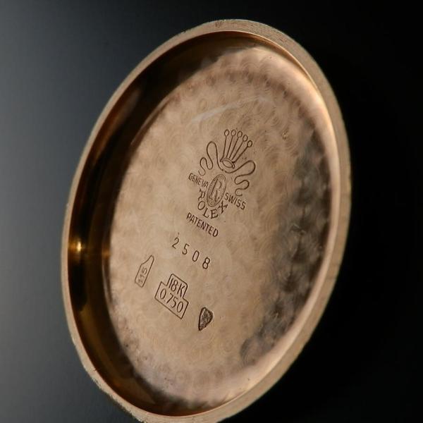 幻!Ref.2508★ロレックス ビッグクロノ37mm★Cal.13 18金無垢ローズゴールドのサムネイル