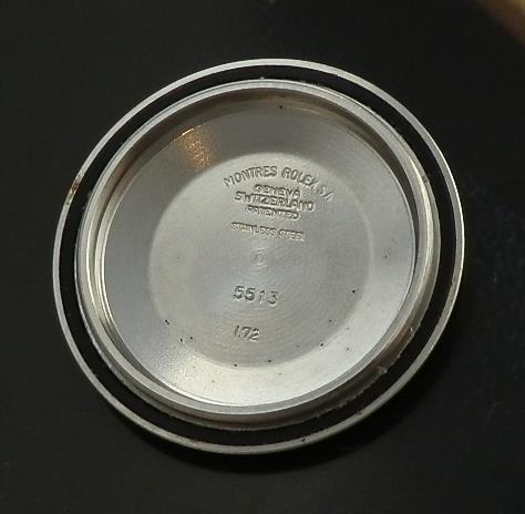 極上一品フィート1'st★ロレックス サブマリーナ Ref.5513/Cal.1520★1972年のサムネイル