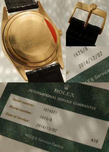日本ロレックス オーバーホール済2年保証★ロレックス サンダーバード Ref.1625/8★Cal.1570 18金無垢シャンパンゴールドのサムネイル