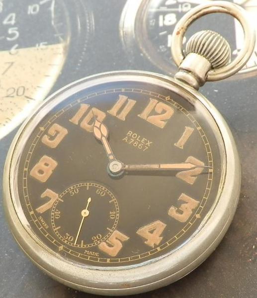 本物イギリス空軍官給★ロレックス G.S.マーク2 Aタイプ★Cal.CORTEBERT526 1939年のサムネイル