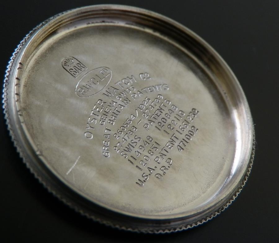 1926年 幻1'stオイスター★ロレックス クッション Ref.2081★Cal.10 1/2のサムネイル
