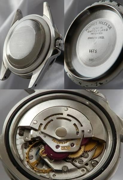1968年製造日本ロレックス オーバーホール見積★ロレックス GMTマスター★Ref.1675/Cal.1570のサムネイル