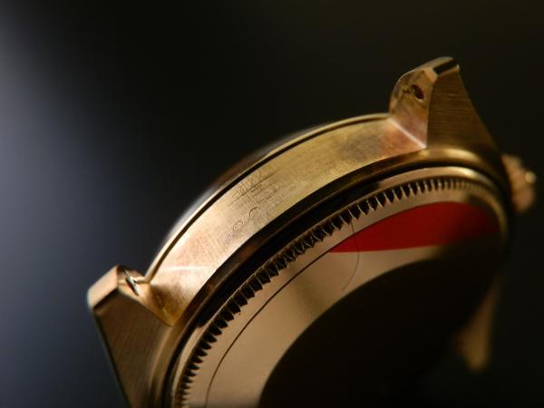 激希少日本ロレックス オーバーホール済2年間保証★ロレックス デイトジャスト Ref.1500/7★14金無垢シャンパンゴールドのサムネイル