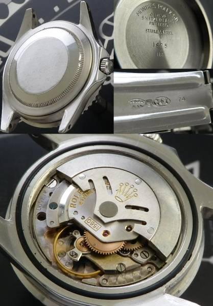1960年ミラーダイアル★ロレックス GMTマスター Ref.1675ヒラメ★Cal.1560 極上のサムネイル