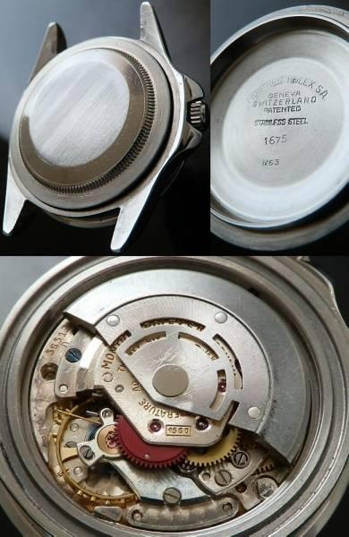 1963年ヒラメ☆ミラー★ロレックス GMTマスター Ref.1675/Cal.1560★幻の付属品のサムネイル
