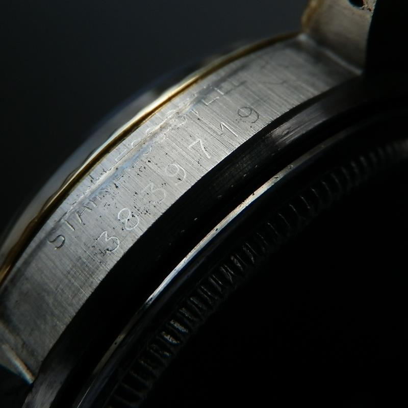 14金無垢 & ステンレススティール ★ロレックス デイトジャスト Ref.1601/3★Cal.1570  USAブレスのサムネイル