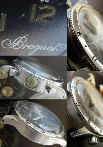 幻1955年ファーストモデル★ブレゲ タイプXX★Cal.222フライバックのサムネイル