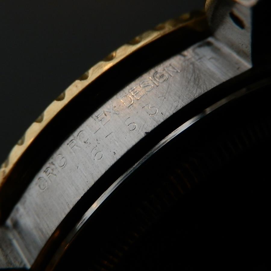 1983年フジツボブラック Ref.16753★ロレックス GMTマスター★Cal.3075 14金無垢/18金無垢/ステンレススティールのサムネイル