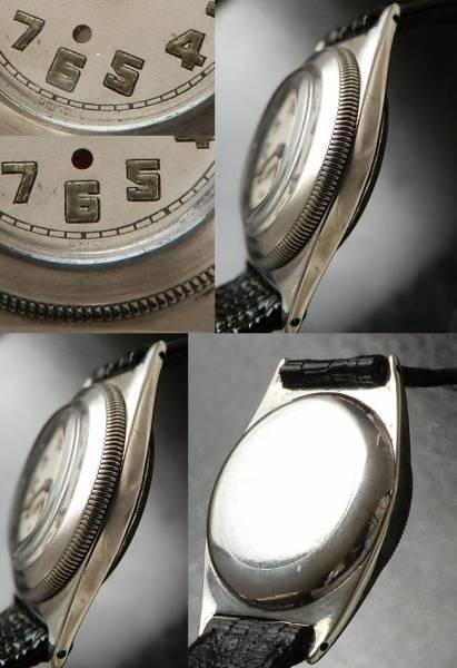 幻の逸品..925銀無垢★ブランパン ハーウッド★1929年 世界初自動巻伝説のサムネイル