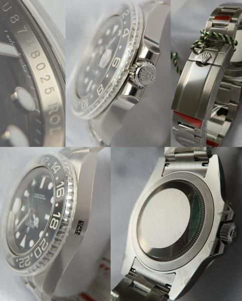 未使用付属品完備★ロレックス GMTマスターⅡ★Ref.116710LN/Cal.3185のサムネイル