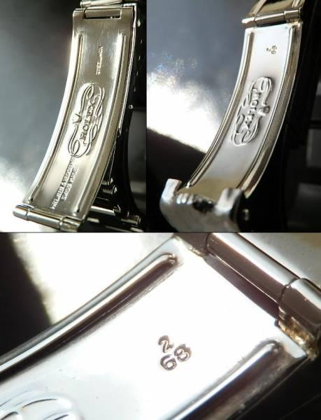 1968年製造☆19MM★ロレックス リベットブレス★Ref.7205/FF.60のサムネイル