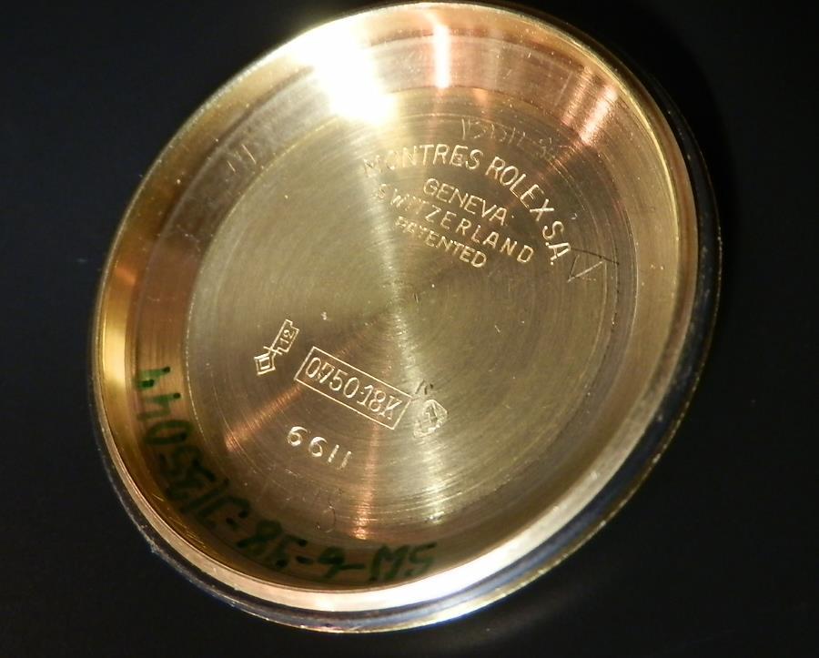 幻デイデイト2'ndモデル★ロレックス オイスターパーべチュアル Ref.6611/Cal.1055★18金無垢ライトピンクゴールドのサムネイル