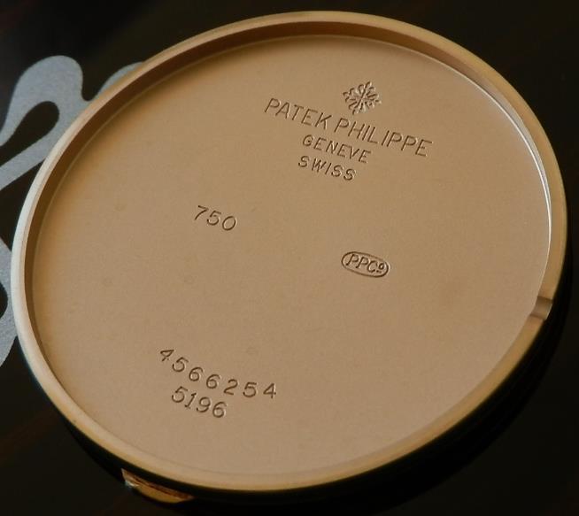 極上18金無垢ローズゴールド★パテック・フィリップ カラトラバ Ref.5196★付属完備のサムネイル