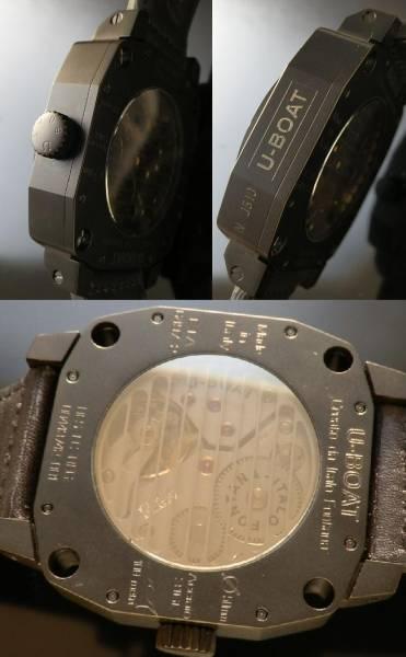 未使用,付属完備★U-BOAT/ユーボート★サウザンズ オブ フィート Cal.6497-2のサムネイル