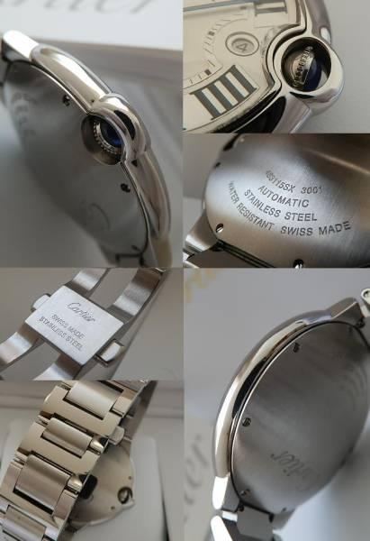 メーカー保証残11ヶ月★カルティエ バロンブルー42mm★Cal.049 付属完備のサムネイル