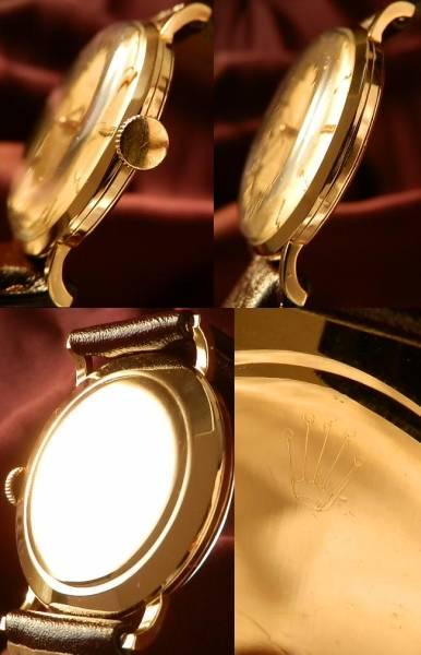 ラウンドの美学..18金無垢シャンパンゴールド★ロレックス プレシジョン★幻…Ref.9659のサムネイル