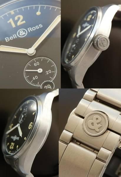 美品★ベル & ロス/Bell & Ross★ビンテージ123✰100m防水 Cal.2895-1のサムネイル