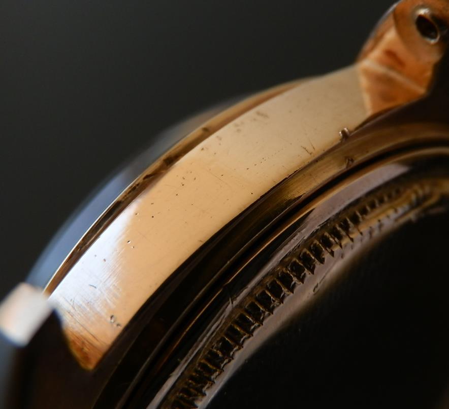 幻スムース☆18金無垢レッドゴールド★ロレックス デイデイト Ref.1802/Cal.1555★トロピカルダイアルのサムネイル