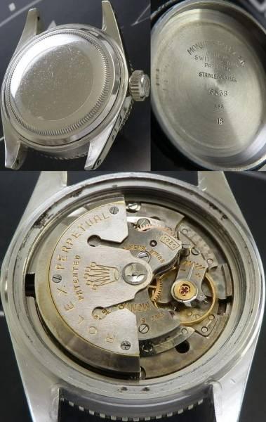 1956年ミラーダイアル★ロレックス サブマリーナ Ref.6538/Cal.1030★レッドTOPのサムネイル