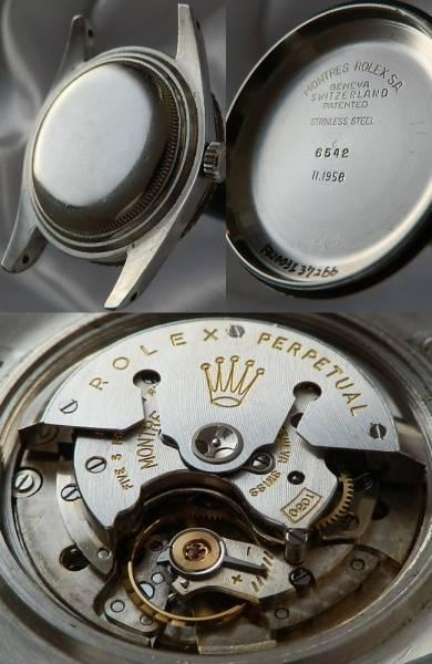 1958年ベイクライト&ミラー★ロレックス GMTマスター1'st★Ref.6542/Cal.1036のサムネイル