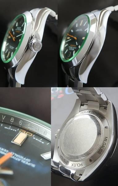 2011年4月正規購入★ロレックス ミルガウス Ref.116400GV/Cal.3131★使用回数3のサムネイル